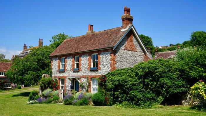 Photo d'une vieille maison